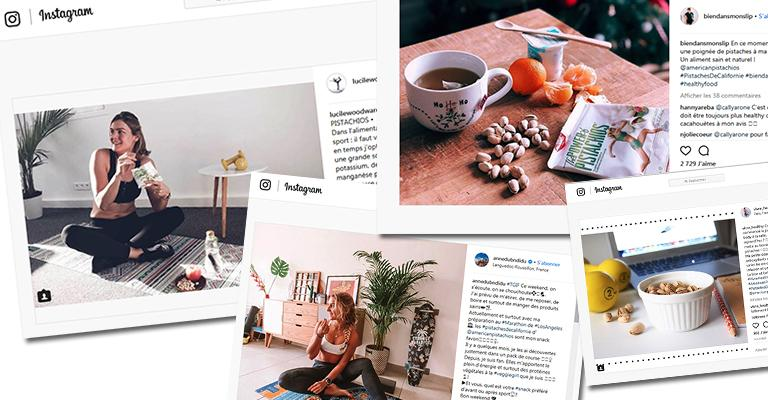 French Fitness Bloggers Promote Health Benefits of Pistachios
