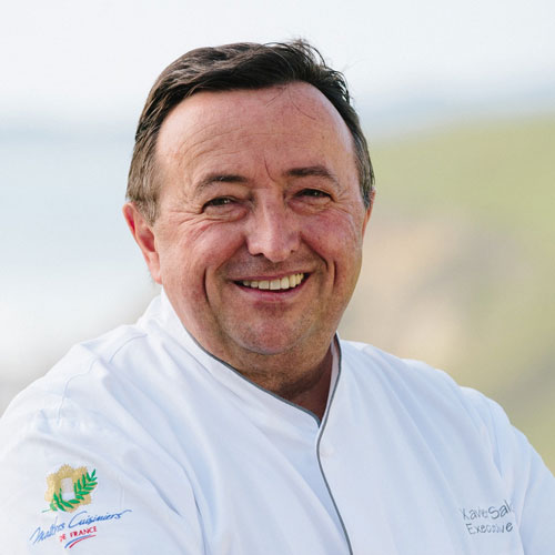 Chef Xavier Salomon